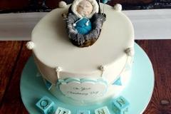 Quinn - Eskimo Christening Cake
