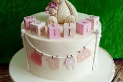 Emilia - Christening cake