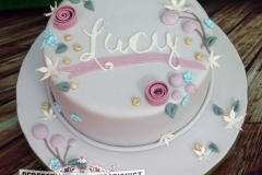 Lucy - Christening Cake