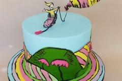 Liam Fergus - Dr.Seuss Christening Cake