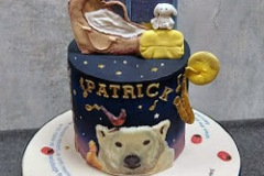 Patrick - On the night you were born, Naming Day Cake