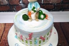 Cillian - Peter Rabbit Christening Cake