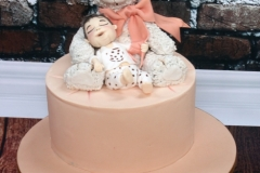 Ciara - Teddy Bear Christening Cake