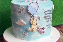 Alice - Winnie the Pooh Naming Day Cake