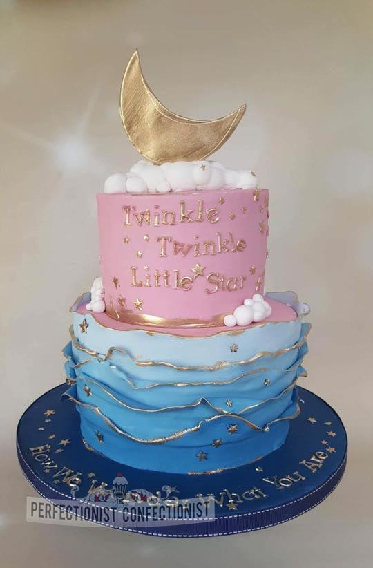Lihn - Twinkle Twinkle Little Star Baby Shower Cake
