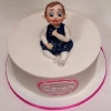 Sarah - Little Girl Christening Cake