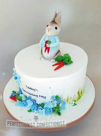 Tadhg - Peter Rabbit Christening Cake