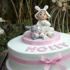 Holly - Ballerina Bunny Christening Cake
