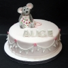 Alice - Mouse Christening Cake