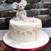 Libby - Toy Mouse Christening Cake