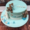 Adam - Teddy Bear Christening Cake