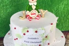 Croíadh\'s First Christmas (cake)