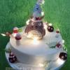 Totoro Christmas Cake