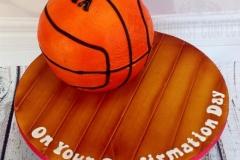 Mia - Basketball Confirmation Cake