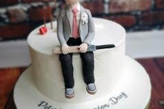 Peter - Cricket Communion Cake
