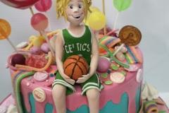 Emma -  Boston Celtics Confirmation Cake