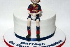 Darragh - Barcelona Communion Cake