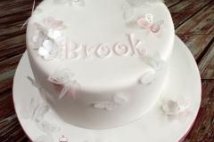 Brooke - Butterfly Communion Cake