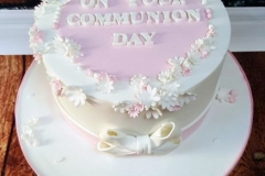 Isabelle - Communion Cake