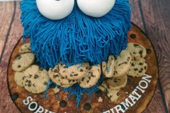 Sophie - Cookie Monster Confirmation Cake
