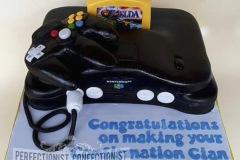 Cian - Nintendo 64 Birthday Cake