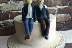 Matthew and Harry - Dublin GAA Confirmation Cake