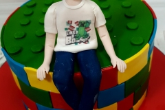 Ryan - Lego Confirmation Cake