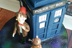 Jack - Dr. Who TARDIS Confirmation Cake
