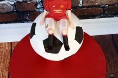 Liam - Manchester Utd Football Communion Cake