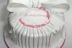 Lauren - Bow Communion Cake