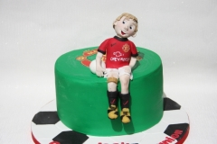 Jack D - Manchester Utd Communion Cake