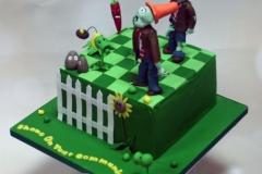 Shane - Plants vs. Zombies Communion Cake