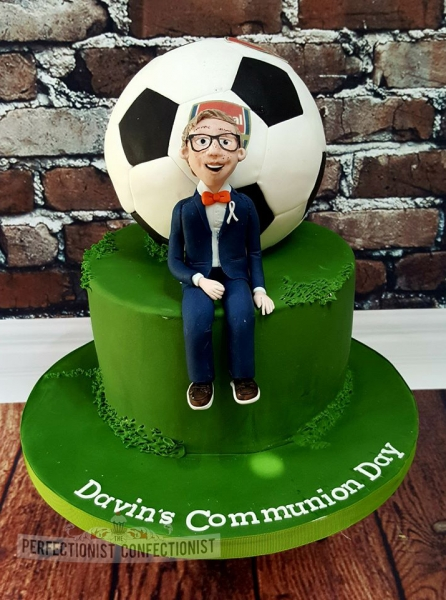 Arsenal Football Cake Topper