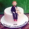 Joe and Bear - Communion Cake
