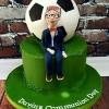 Davin - Arsenal Communion Cake