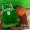 Sean - Boston Celtics Confirmation Cake