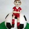Jordan - Football Communion Cake