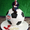 Sam - Liverpool Communion Cake