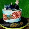 Levi - Hip Hop Confirmation Cake