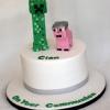 Cian - Minecraft Communion Cake