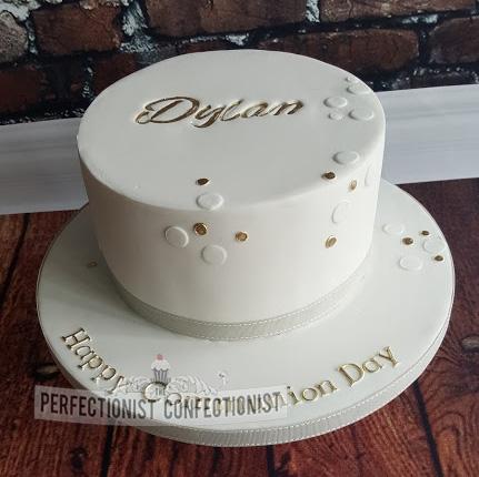 Dylan - Elegant Communion Cake