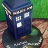 Rachael - Dr. Who T.A.R.D.I.S cake Confirmation