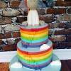 Lizzie - Unicorn Communion Cake