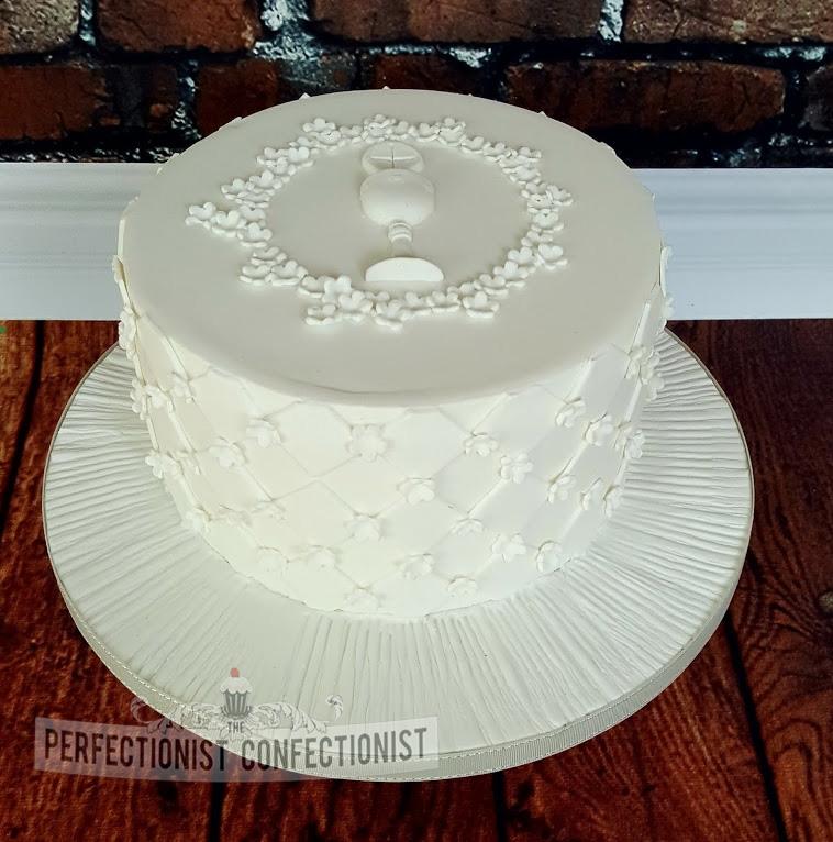 Suzanne - White Communion Cake