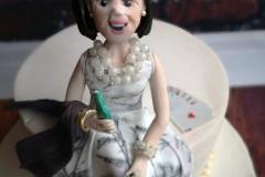 Kate - Glamorous Cake Topper