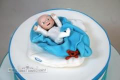 Maitiu - Christening Day Cake Topper