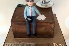 Tony - Retirement Cake