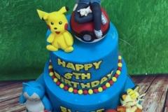 Elliot - Pokemon Birthday Cake