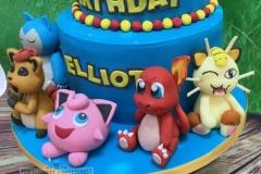 pokemon-birthday-cake-pikachu-cake-jElliot - Pokemon Birthday Cake