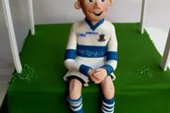 James - GAA Communion Cake Topper